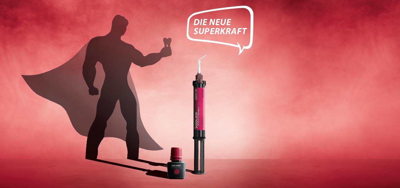 Coltene Produktkampagne Superkraft - Key-Visual