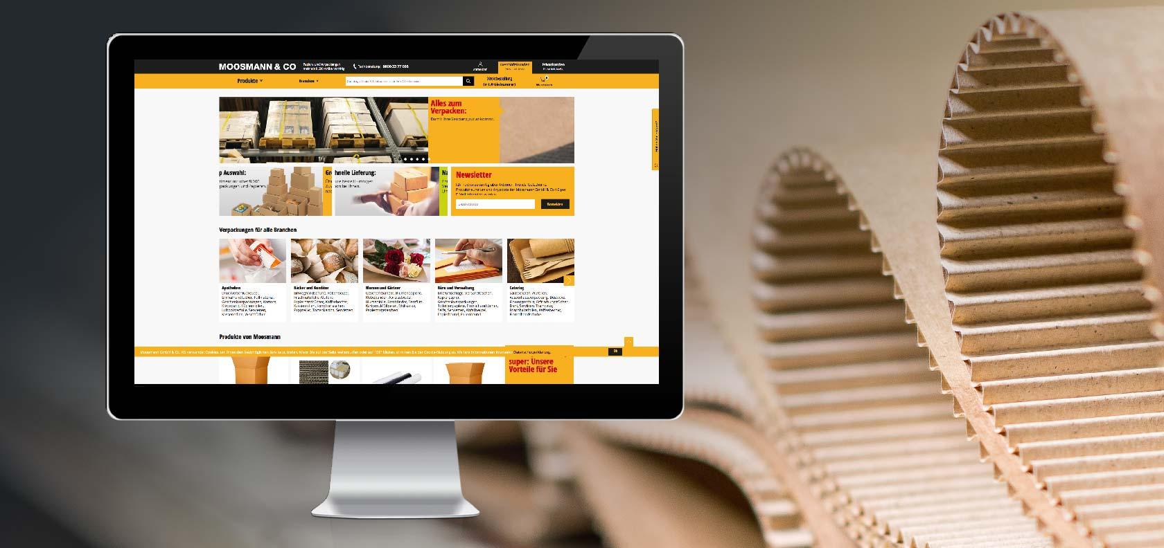 Moosmann Webdesign - Webseite
