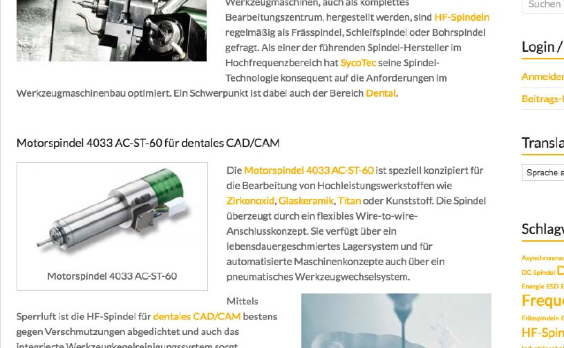 SycoTec Digital Design - Content